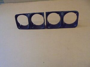 Ford Escort  mk2   RS2000  front   HEAD LIGHT SURROUNDS