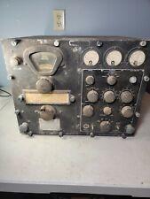 RARE! US Navy Ham Radio RBC-1 RADIO RECEIVER CRV-46148 tube radio ww2 era