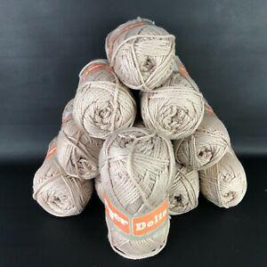 11 VTG Yarn Unger Delta Yarn Skein 100% Mercerized Cotton 3 1/2 oz. 140 Yds Lot