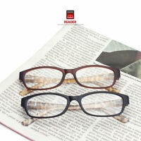 2 PR LOT PREMIUM READING GLASSES CLEAR LENS STRENGTH MEN WOMEN PACK