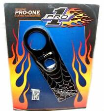 New Pro One Spider Web Black Dash Panel FLHR Road King One Piece