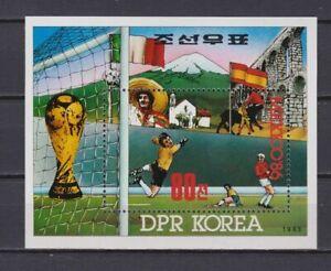 s5977) KOREA 1985 MNH** WC Football'86 - CM Calcio S/S