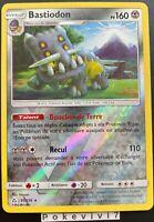 Carte Pokemon BASTIODON 85/156 Holo REVERSE Soleil et Lune 5 SL5 FR NEUF