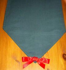 Navidad corredor de la tabla Verde 110 cm X 25 cm Decoración de Mesa Regalo extremos puntiagudo