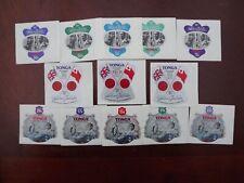 Good Quality Tonga  silver jubilee Self-Adhesive air mail sets x 3 unused
