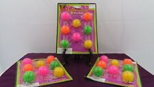 Halloween Party Favors-Wuni Ball Key Chains-3 Packs/ 8 Key Chains per Pack-2001