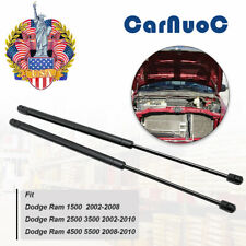 2x Front Hood Gas Lift Support Replacement Kit For Dodge Ram 1500 3500 2002-10