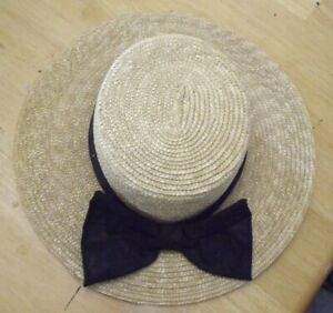 The Scala Collection Women's Straw Hat Ribbon Small