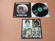 THE ROLLING STONES Big Hits ( High Tide And Green Grass )  LP & POSTER TXS101