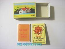 MULINO BIANCO scatolina anni '80_ CHE ORA E'? LA MERIDIANA (sorpresina 03)