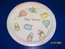 "Converting Baby Shower Party 9"" Dinner Plates"