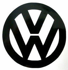 4 x VW Logo Car Stickers Body Panel, Decal, Graphic, Window/Windscreen