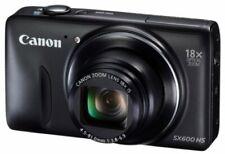 Canon Digital Camera Power Shot Sx600 Hs Black 18X Optical Zoom Pssx600Hs (Bk)