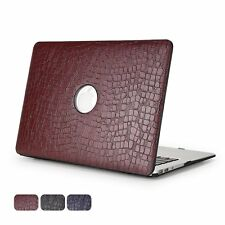 Apple MacBook Air 13 Case Hard Shell Leather Anti scratch / dust Non Slip New