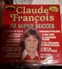 33 TOURS / LP--CLAUDE FRANCOIS--20 SUPER SUCCES
