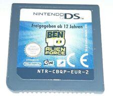 BEN TEN ALIEN FORCE 10 - Nintendo DS Gioco Game Bambini 3DS Lite Femmine Maschi