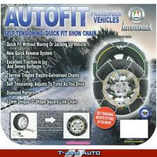 Snow Chains 4WD 15 16 17 Inch CA510 35/12.5x15 Wheels Tyres New