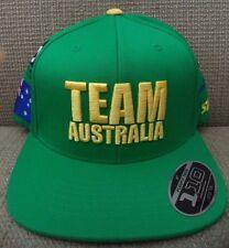 SHIFT TEAM AUSTRALIA 2012 MOTORCROSS CAP HAT SNAPBACK GREEN *NEW*
