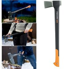 New Ultra-Sharp 28-Inch Splitting Axe X25 Powerful Camping Firewood Log, New