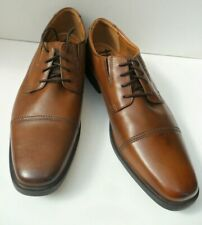 Men's Clarks New Brown Leather Lace Up Shoes - Size UK 11 H EUR 46