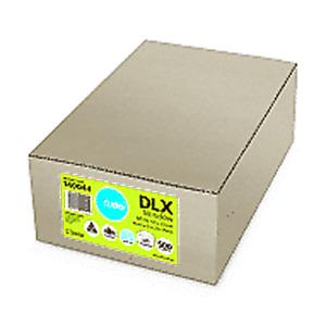 DLX Envelopes - 120x235 - 500 pcs - Lick'n'Stick Windowface (89236)