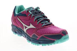 Mizuno Wave Daichi 2 R767B011 Womens Purple Mesh Athletic Running Shoes 8