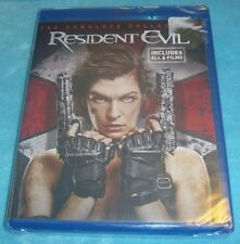 Resident Evil Collection (Blu-ray Disc, 2017, 6-Discs, WS, NEW ~*~DIGITAL HD~*~)