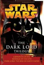 NEW Star Wars: The Dark Lord Trilogy By James Luceno Paperback Free Shipping