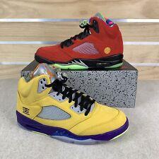 "Nike Air Jordan 5 Retro ""What The"" Size 11 CZ5725-700 No Box Lid"