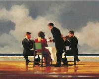Jack Vettriano - Elegy for a Dead Admiral - Limited Edition Print - Signed 75,5x