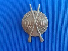 Russia Empire Original Badge For Excellent Shooting. Tsarist Russia