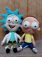 "2 New!! Funko Galactic Adult Swim Rick & Morty 9"" Plushies MK12"
