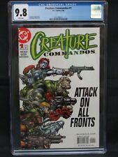 Creature Commandos #1 (2000) DC Comics CGC 9.8 JD40