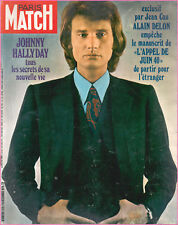 ▬►PARIS MATCH 1129 de 1970 JOHNNY HALLYDAY_SANCY SINATRA