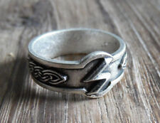 Sowilo Rune Ring - Vikings Runes Sig Wikinger Germanen Futhark