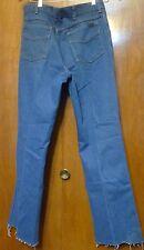 34W 34L tagged 31L actual Polyester Cotton Mens Blue Denim Jeans