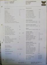 Carburatore Weber Vergaser 32 ICS /HS Steyr Puch Haflinger  schede regulazione