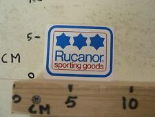 STICKER,DECAL RUCANOR SPORTING GOODS 3 STARS