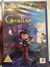 SONY PLAYSTATION PS 2 PS2 CORALINE GAME 2009 SEALED !