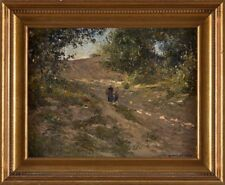 Picture Painting Oil/ Wood Signed Hambüchen, Wilhelm