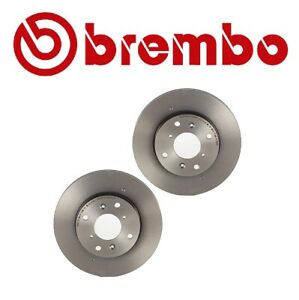2 Brembo 25539 Front Disc Brake Rotors 2-pieces for Honda Accord 1998-2002