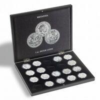 Presentation Case For 20 Britannia Silver Coins (1oz) in Capsules *NEW*