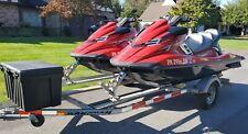 2 X 2015 Yamaha Svho Cruiser Waverunners With Trailer, With Hotdog Raft.