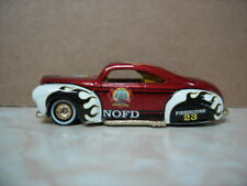 HOT WHEELS FIRE DEPT RODS TAIL DRAGGER NEW ORLEANS LA FIRE DEPT REAL RIDERS