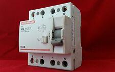 Indo Asiático fp 40A 40AMP 100MA 4P CUATRO POLOS RCCB RCD Interruptor