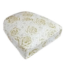 Dining Room Chair Seat Covers Kitchen Stool Slipcovers with Buckles Rose_1