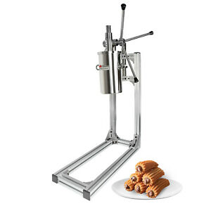 ALDKitchen Churro Maker Commercial | Working Stand | Manual | No plug | 4 Nozzle