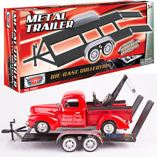 Trailer Car Carrier Hauler Motormax 76001 1/24 Scale Diecast Model Toy Car