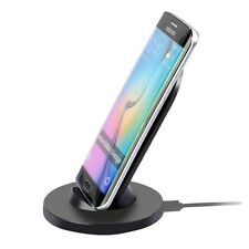 Itian Wireless Charger Ladegerät Induktiv Ladestation Dockingstation Schwarz Top