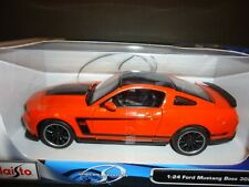 Maisto Ford Mustang Boss 302 Orange 1/24